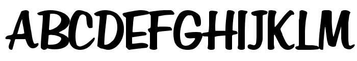 Em Regular Font UPPERCASE
