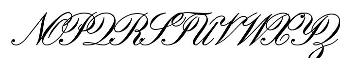 EmbassyOpti Font UPPERCASE