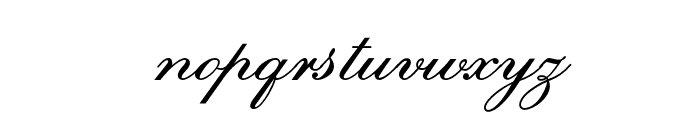 EmbassyOpti Font LOWERCASE
