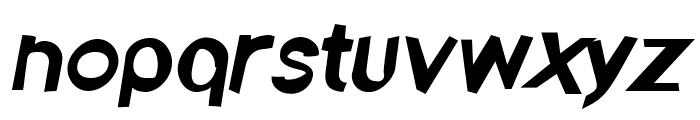 Ember Italic Font LOWERCASE