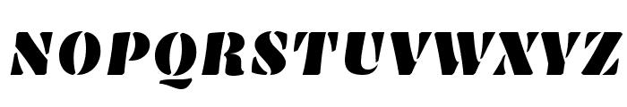Emblema One Font UPPERCASE
