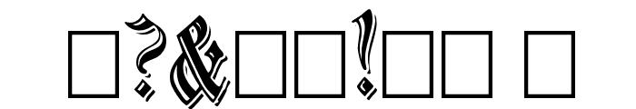 EmbossedBlack Normal Font OTHER CHARS