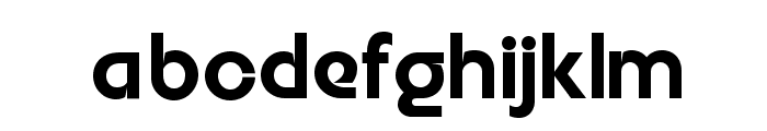 Embrionic55Swash Font LOWERCASE