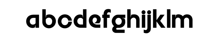 Embrionic55 Font LOWERCASE