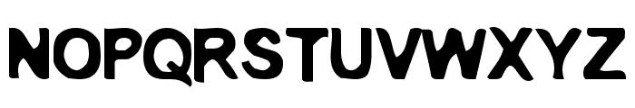 EmbryonicOutside Font UPPERCASE