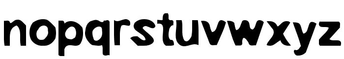 EmbryonicOutside Font LOWERCASE