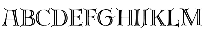 Emerald Isle Font UPPERCASE