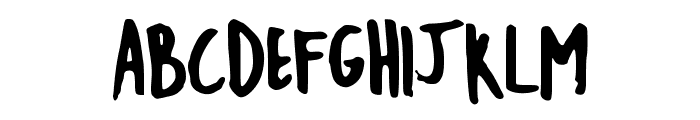 EmileeCaps Font UPPERCASE