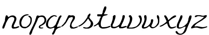 Eminenz Font LOWERCASE