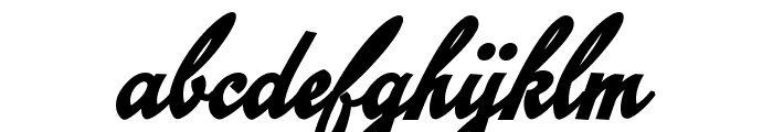 Emiral Script Bold PERSONAL USE Font LOWERCASE