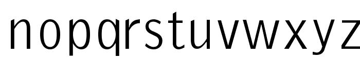 EmkaSansCondensed Font LOWERCASE