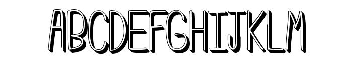 Emmy3D Font UPPERCASE