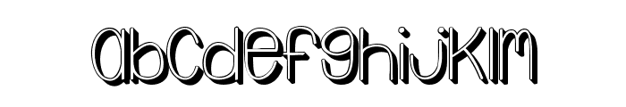 Emmy3D Font LOWERCASE