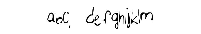 Emmy Font LOWERCASE