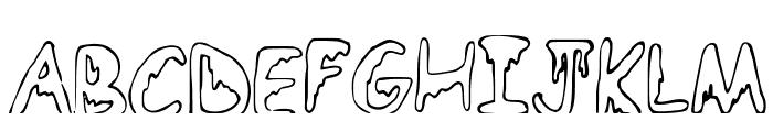 EmoO Font UPPERCASE
