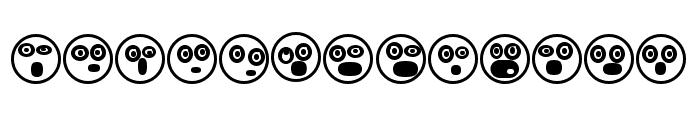 Emoji Boom Regular Font UPPERCASE