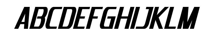 Emotion Engine Bold Italic Font UPPERCASE