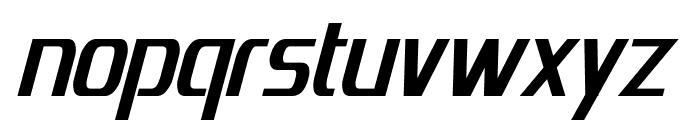 Emotion Engine Bold Italic Font LOWERCASE