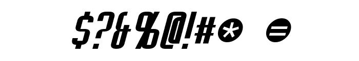 Empanada Italic Font OTHER CHARS
