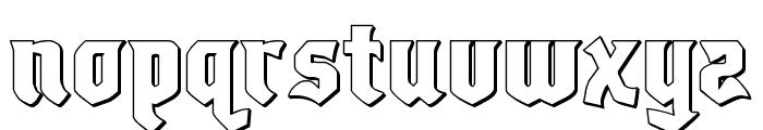 Empire Crown 3D Regular Font UPPERCASE