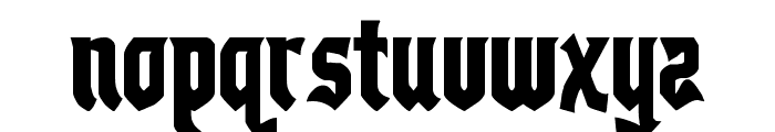 Empire Crown Condensed Font UPPERCASE