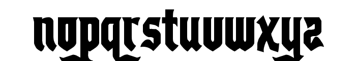Empire Crown Condensed Font LOWERCASE