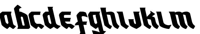 Empire Crown Leftalic Font UPPERCASE