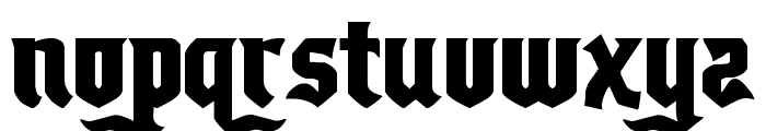 Empire Crown Regular Font LOWERCASE