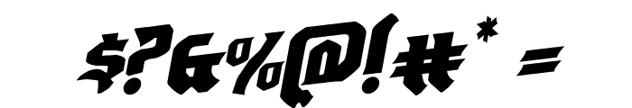 Empire Crown Rotalic Font OTHER CHARS