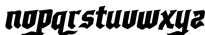 Empire Crown Rotalic Font LOWERCASE