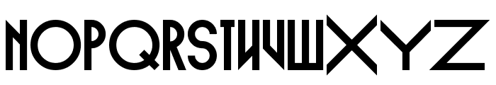 Empire Straight Font LOWERCASE