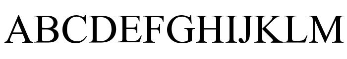 Empiric Roman Font LOWERCASE