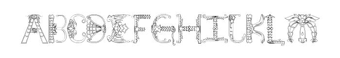 Empress Font UPPERCASE