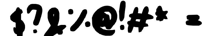emily smyth ;] Font OTHER CHARS