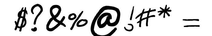 emizfont Font OTHER CHARS