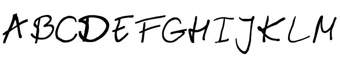 emizfont Font UPPERCASE