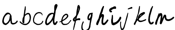 emizfont Font LOWERCASE