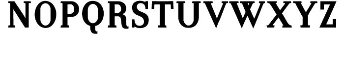 Embossanova Bold Font UPPERCASE