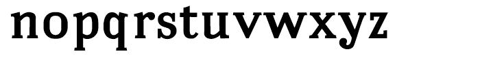 Embossanova Bold Font LOWERCASE