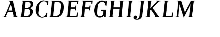 Embossanova Normal Italic Font UPPERCASE