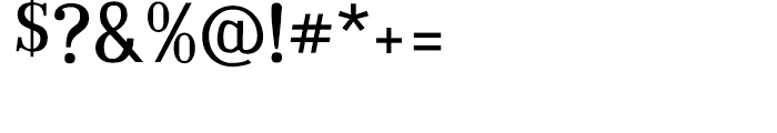 Embossanova Normal Font OTHER CHARS