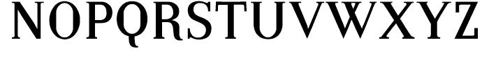 Embossanova Normal Font UPPERCASE