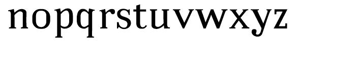 Embossanova Normal Font LOWERCASE