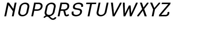 Empirical Three Italic Font UPPERCASE