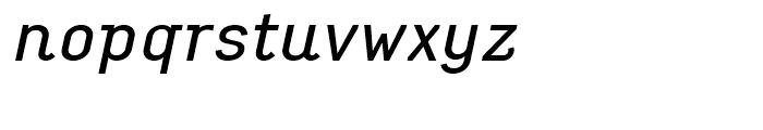 Empirical Three Italic Font LOWERCASE