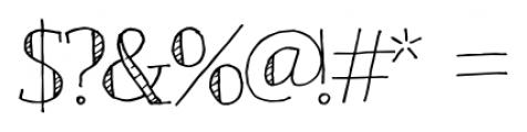 Emjay Regular Font OTHER CHARS