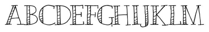 Emjay Regular Font UPPERCASE