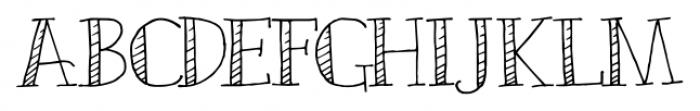 Emjay Regular Font LOWERCASE