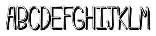 Emmy  3D Font UPPERCASE