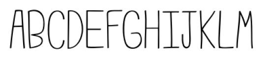 Emmy Regular Font UPPERCASE